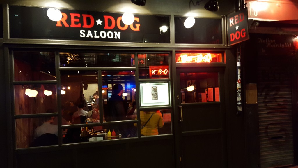 Red Dog Saloon in Soho