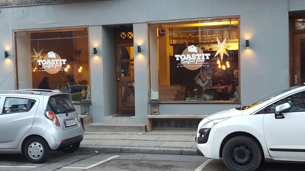 Toast It Aarhus facade