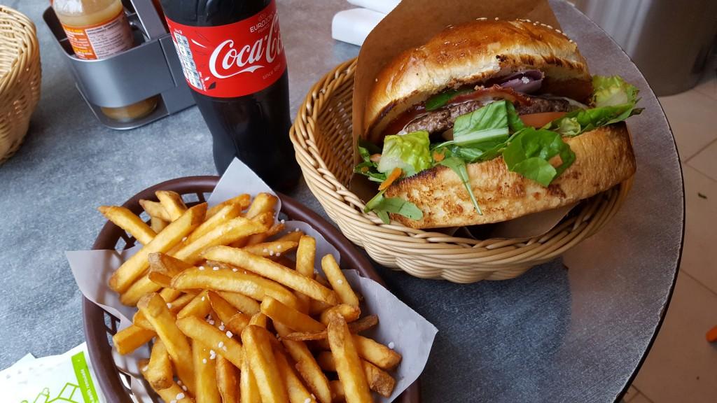 Byens Burger Menu