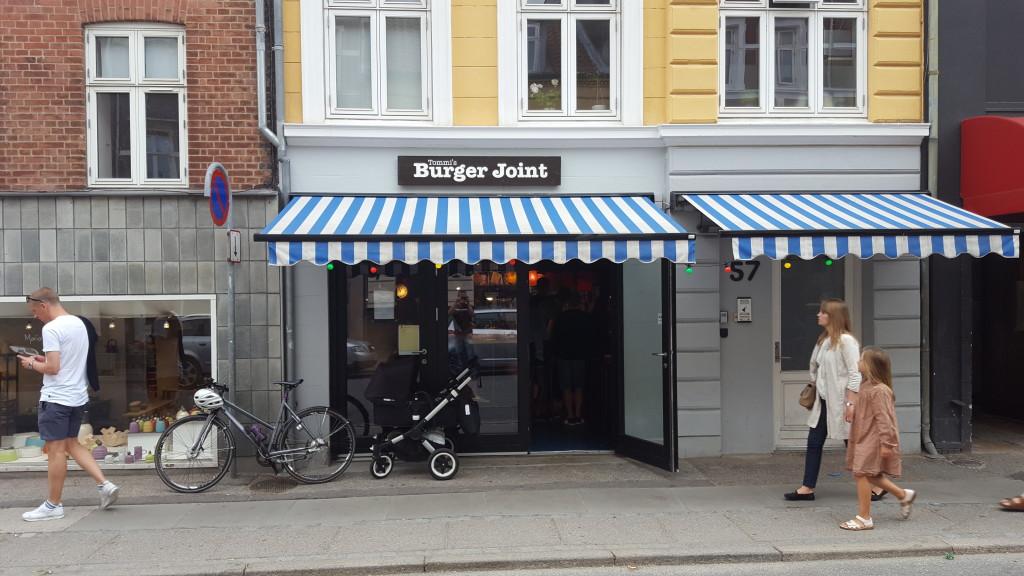 Tommi's Burger Joint facade Aarhus