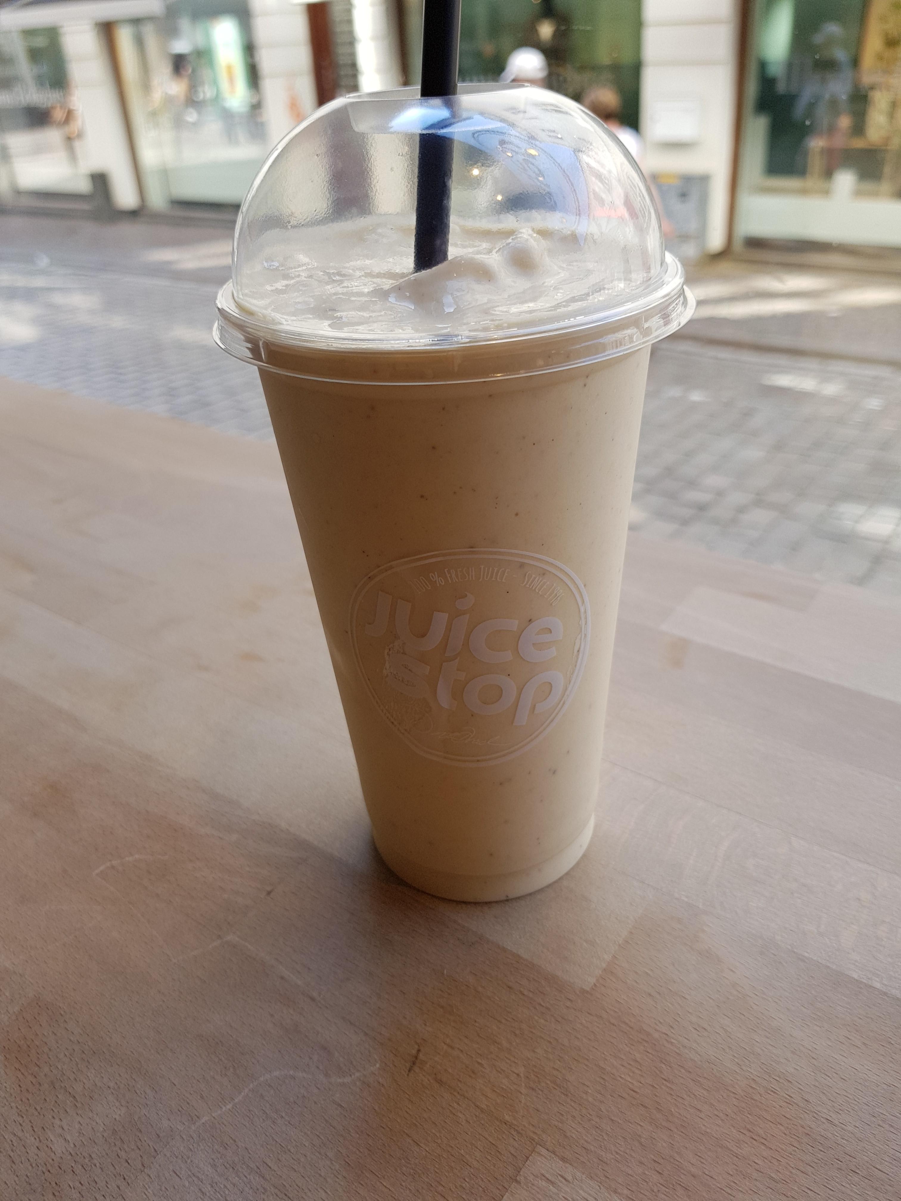 Milkshake hos Juice Stop